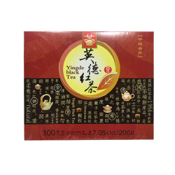 Tea King of China Yingde Black Tea (100 bags) 7.05oz / 200g