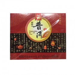 Tea King of China Nannuoshan Pu-erh Tea (100 bags) 7.05oz / 200g