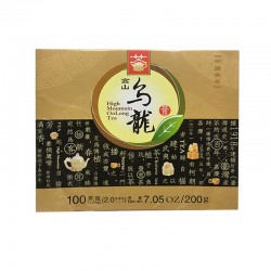 Tea King of China High Mountain OoLong Tea (100 bags) 7.05oz / 200g
